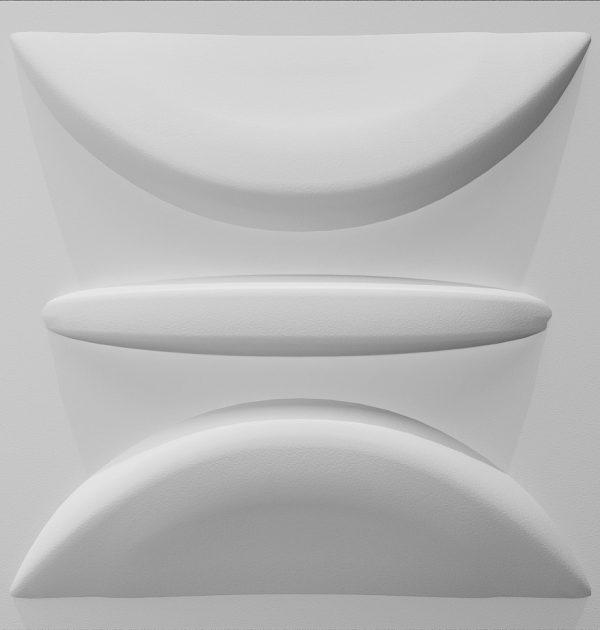 zidni panel, zidna obloga, 3d zidni panel elipse
