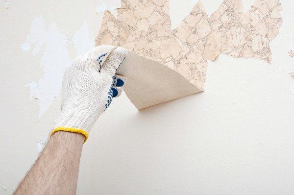 Skidanje zidnih tapeta